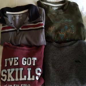 Boys Size 4 Long Sleeves Tops - 4 Tops